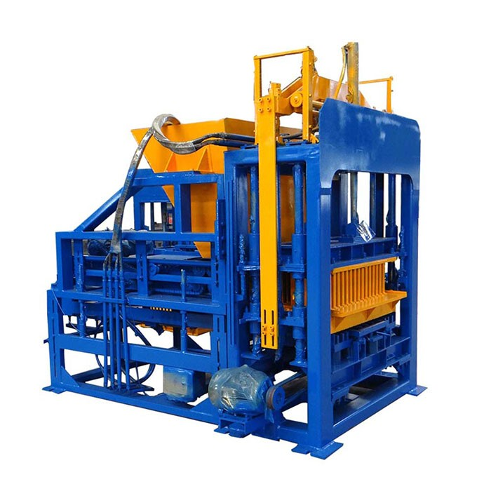 QTF4-15C fully automatic hollow block making machine