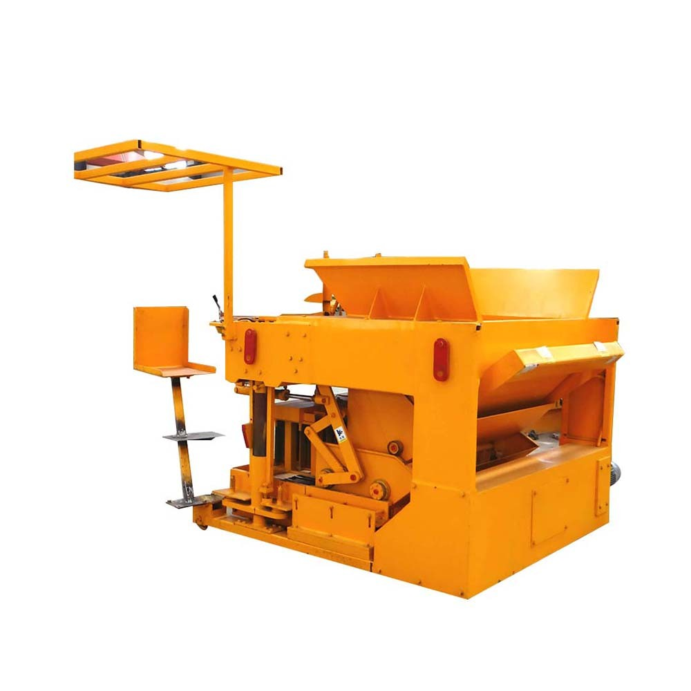 FL 6-30 mobile concrete block machine