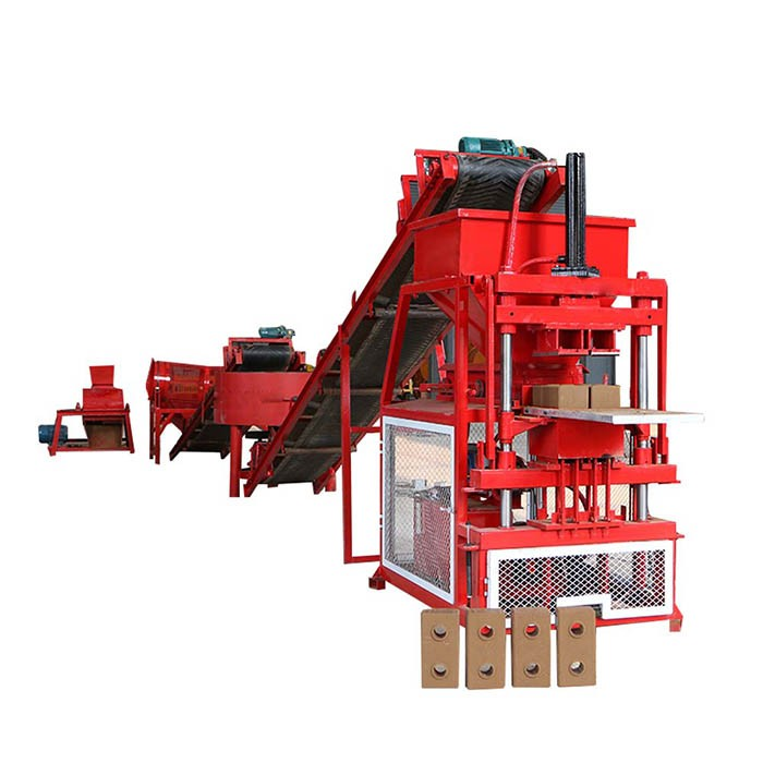 interlocking clay brick machine