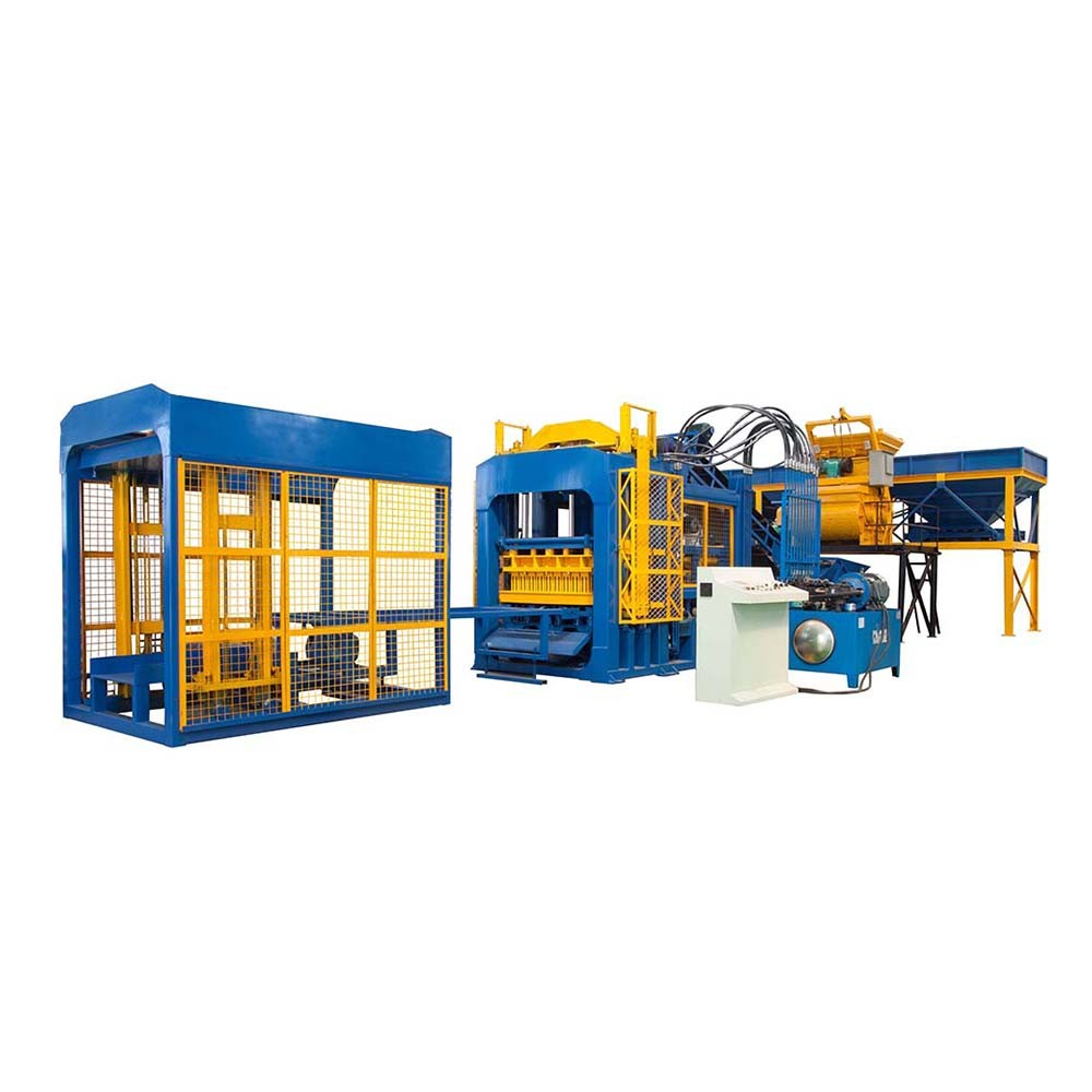 fully automatic concrete block machine