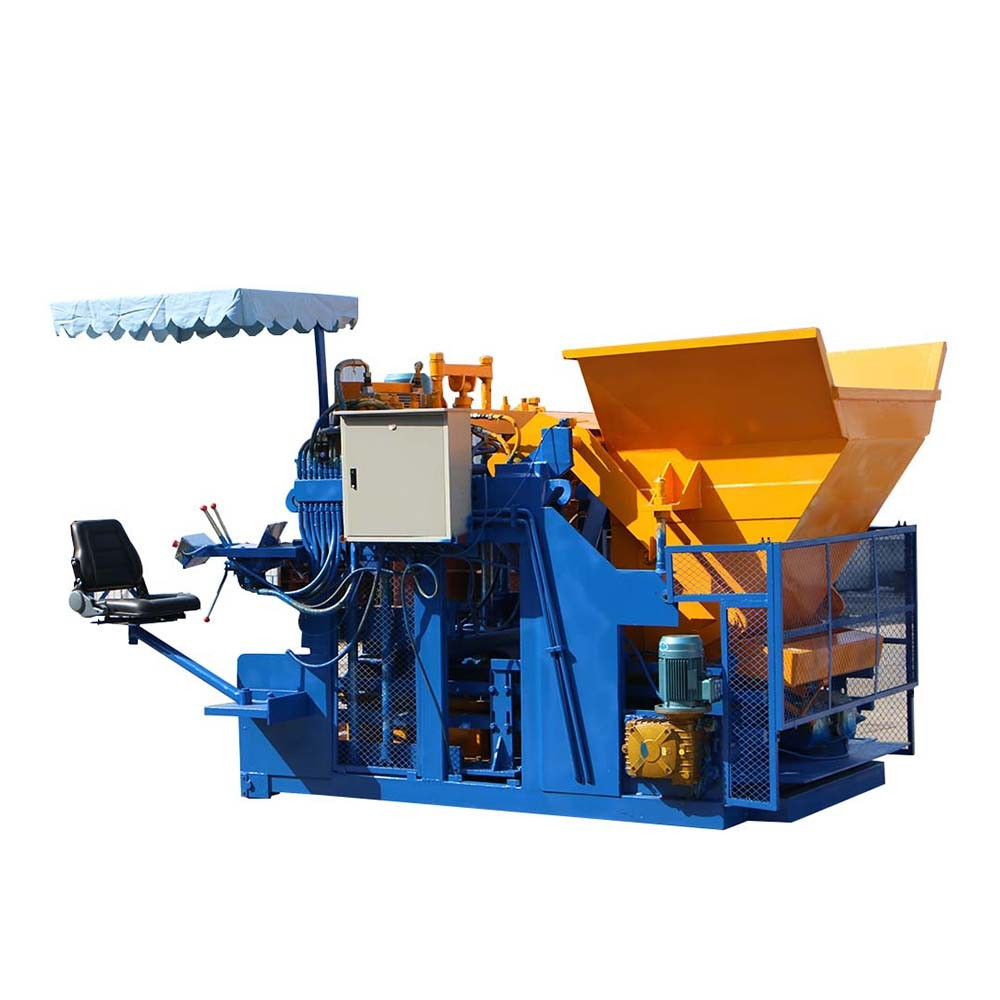 mobile brick making machine