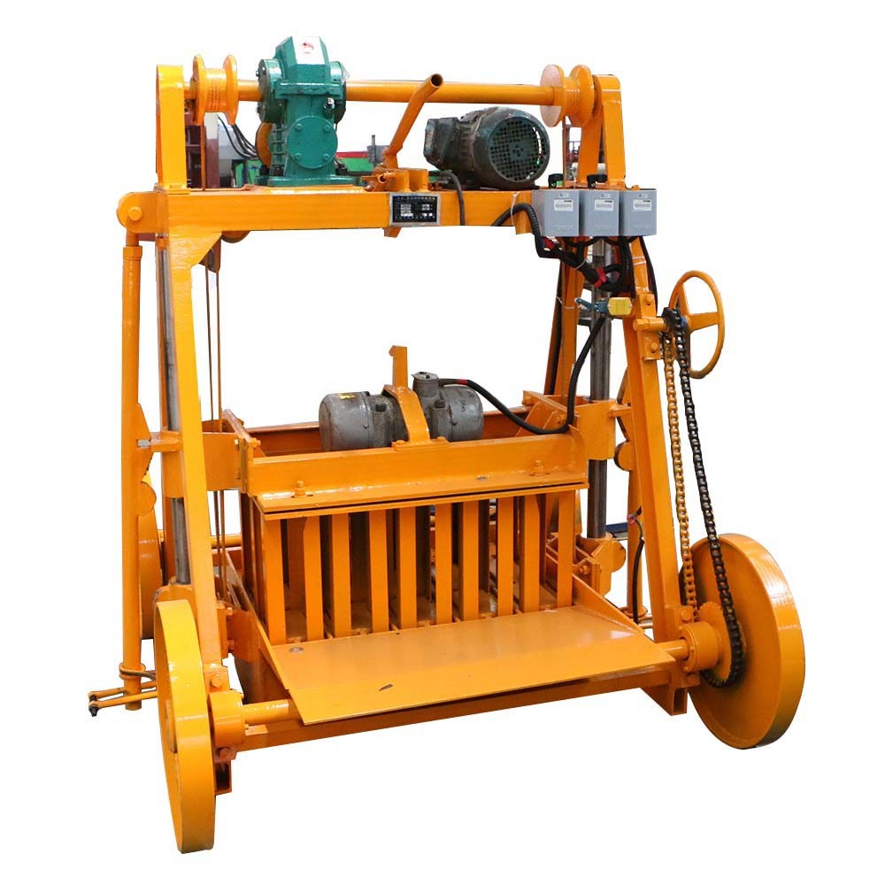 small block making machine
