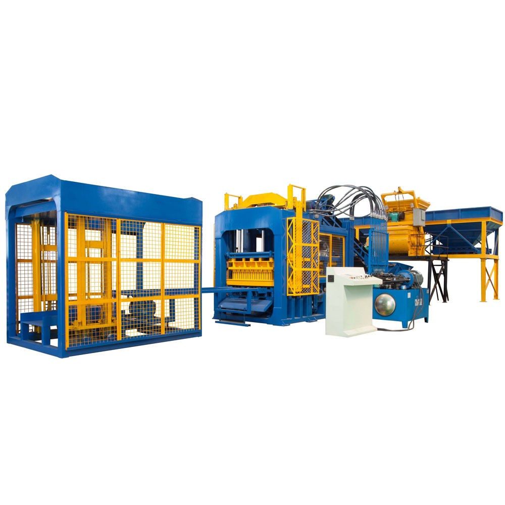 QTF10-15 concrete block machine