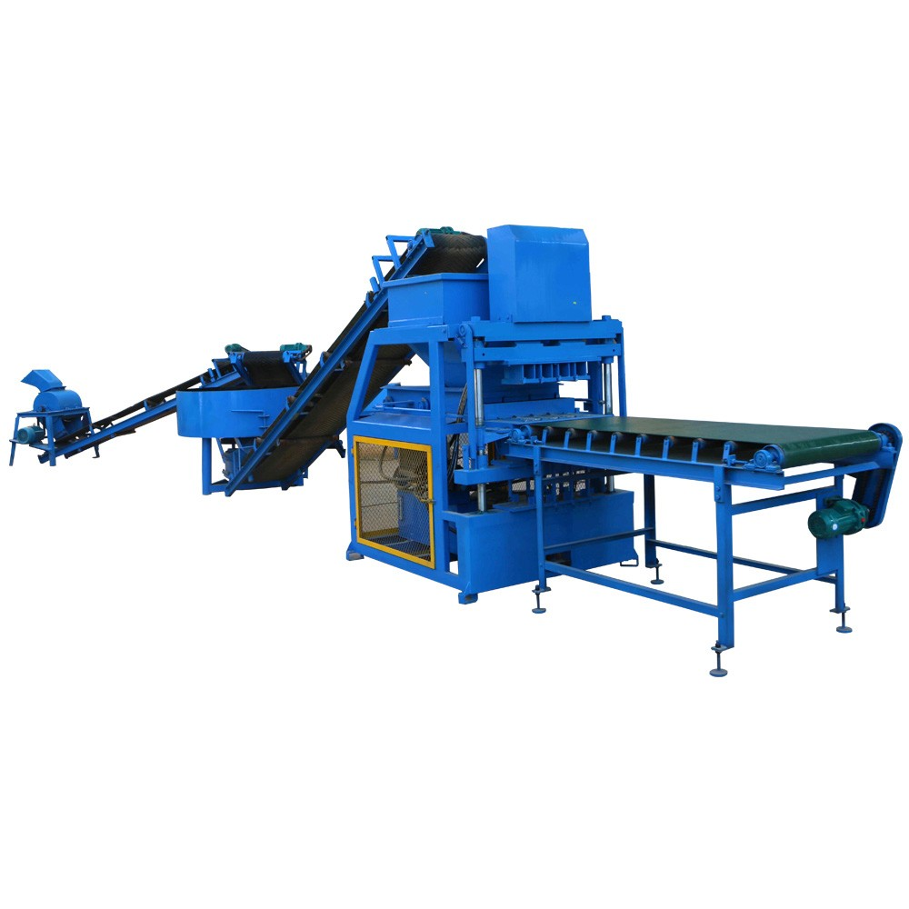 FL4-10 interlocking brick machine