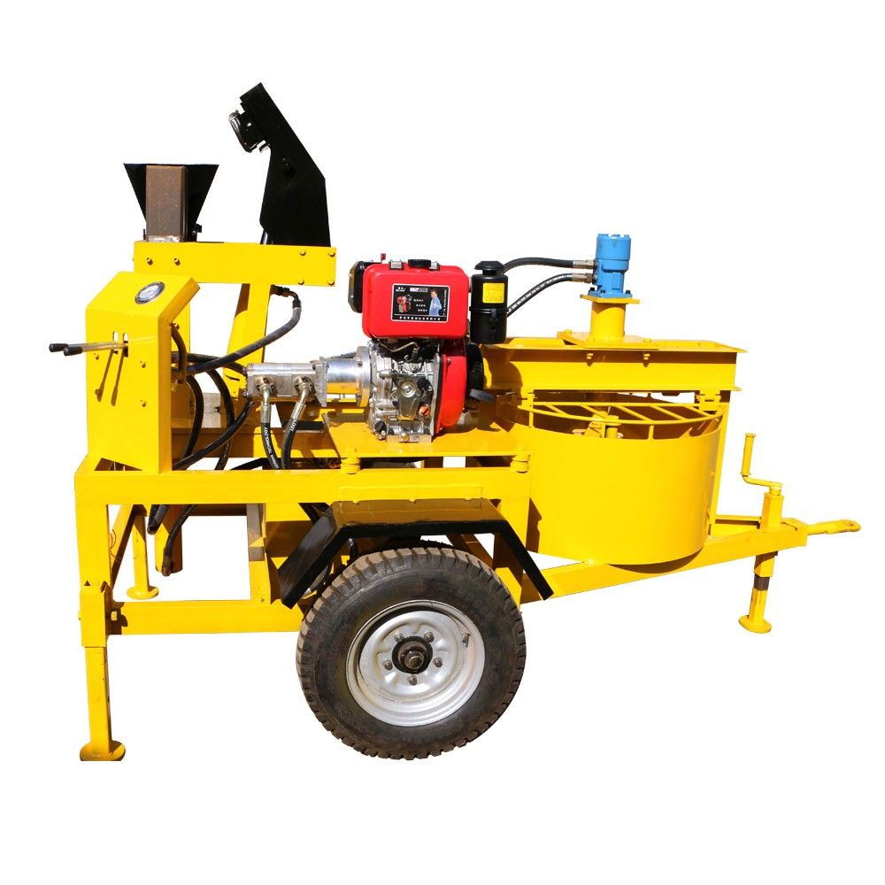 M7MI interlocking brick machine